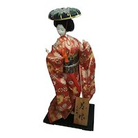 Geisha Doll on Stand