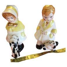 Set of Porcelain Figurines (Piano Babies)