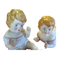 Twin girl piano Babies - set (girls)