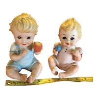 Royal Crown Piano Babies - Pair