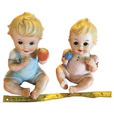 Royal Crown Piano Babies - Pair