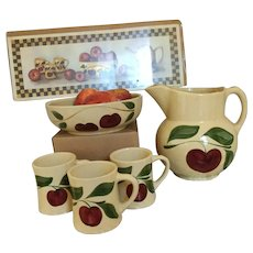 Watt Pottery Apple Collection