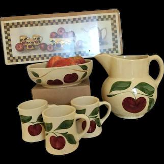 Watt Pottery Apple Collection