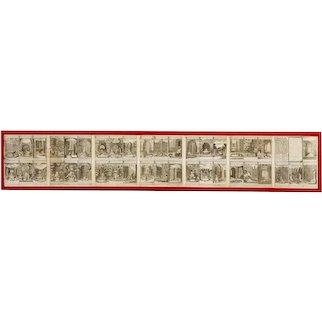 Circa 1726 John Bowles Fables of Aesop From Versailles Engravings