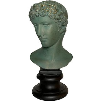 20th Century Grand Tour Style Italian Plaster Bust