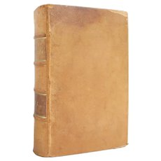 The Homeopathic Theory and Practice of Medicine: Volume One - antique leather bound natural healing reference from 1866 - Free US Shipping