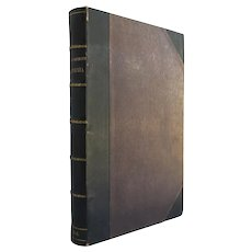 Notes of Travel in California - scarce Americana from Fremont, Emory and Farnham from 1849 bound in three-quarter leather - Free US Shipping