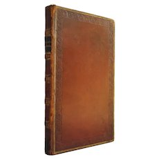 Selections From the Various Authors Who Have Written Concerning Brazil - rare 1825 survey bound in leather - Free US Shipping