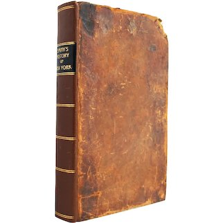 The History of New York - antiquarian leatherbound first edition from 1814 - Free US Shipping