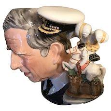 Royal Doulton Prince Charles Large Toby Mug