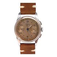 4Repair 1945 Breitling 782 Premier Doctors Tropical Dial Chronograph Wrist Watch