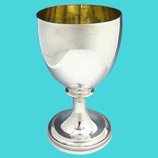 1807 George III Sterling Silver Wine Goblet Robert & Samuel Hennell