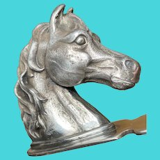 Reed & Barton Silver Plate Horse Head Letter Opener