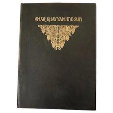 C. H. A. Bjerregaard, Sufi Interpretations of the quatrains of Omar Khayyam, 1902,  #22/26 signed Rara Book