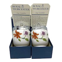 Royal Worcester Porcelain Egg Coddler Astley Design Vintage England