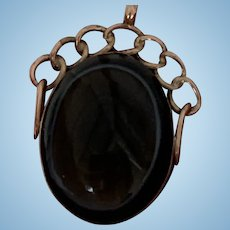 9 Carat Tiger Eye Watch Fob