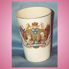 George V and Mary Silver Jubilee Beaker