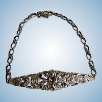 Rose Cut Diamond Bracelet, Victorian