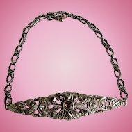 Rose Cut Diamond Bracelet, Victorian