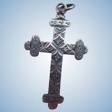 Silver (Sterling ) Cross, Edwardian