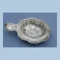 Silver Tea Strainer