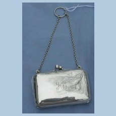 Silver Change Purse, Chester, 1910