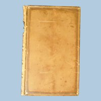 "A key to Alfred Lord Tennyson's ""In Memoriam,"" Leather Bound, Victorian"