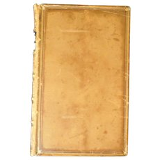 """A key to Alfred Lord Tennyson's """"In Memoriam,"""" Leather Bound, Victorian"""