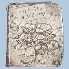 Silver Topped Church of England Prayer book,Edwardian