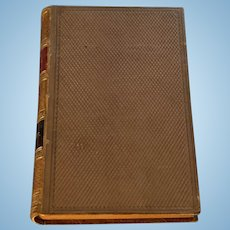Marmion, Sir Walter Scott, Leather Bound Book, Georgian
