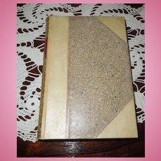Romola, by George Eliot, Velum Spine and Corners