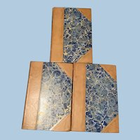 Shelley's Poetical Works, Victorian, 3 Volumes