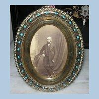 Brass Ormolou Frame, Victorian