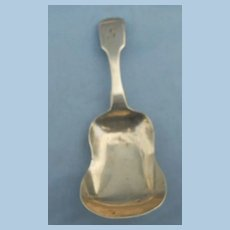 Silver Tea Caddy Spoon, Georgian
