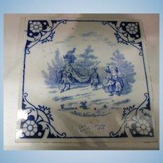 Minton Ceramic Tile, Victorian
