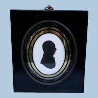 Silhouette of Gentleman by Miers