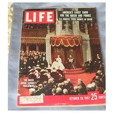 Life Magazine, October 28, 1957