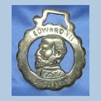 Edward VII Horse Brass