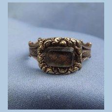 Hair Ring, Georgian