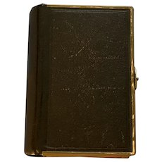 Church of England Prayer Book, Leather, Victorian