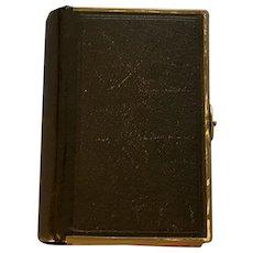 Church of England Prayer Book, Leather, Victorian