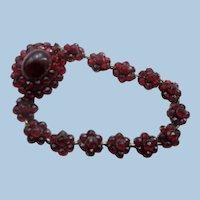 Bohemian Garnet Bracelet, Victorian