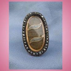 Georgian Memorial Ring, Souvenir, Hair