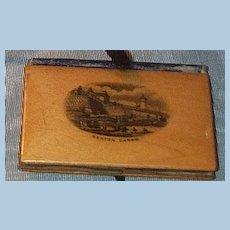 Mauchline Needle Case  Victorian