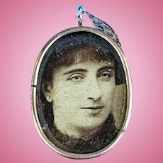 Photo Locket, 10 Carat, Late Victorian