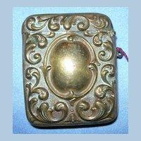 Brass Match Safe, Vesta