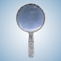Silver Quizzer (Magnifying Glass), Victorian