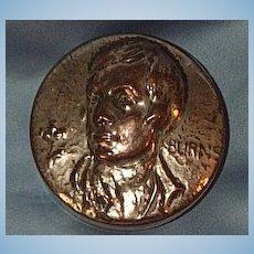 Robert Burns, Metal Snuff Box, Victorian