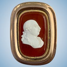 Georgian Cameo Brooch of George III