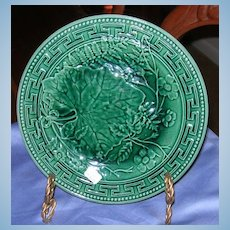 Majolica Plate, Victorian
